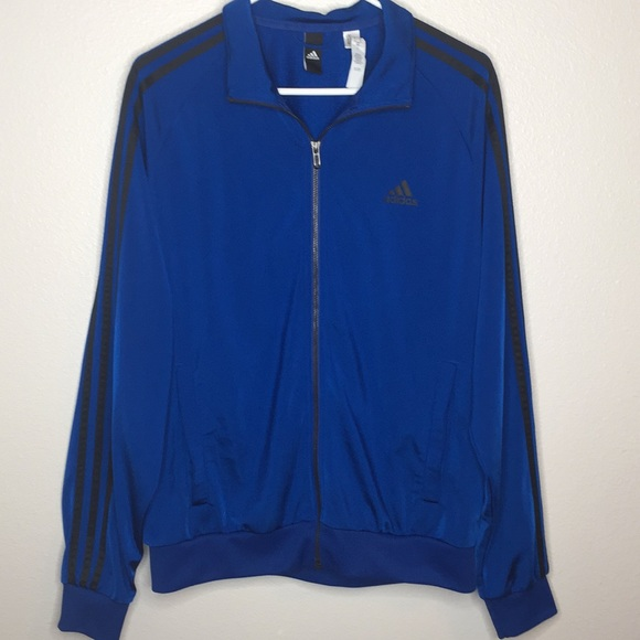 adidas Other - Dark Blue Adidas Track Jacket